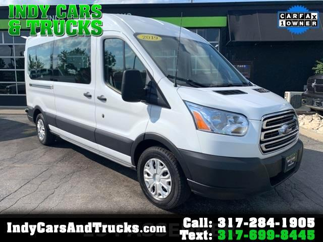 "Ford Transit Passenger Wagon T-150 130"" Med Roof XLT RWD 2019"