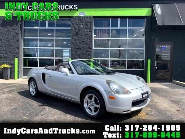 Toyota MR2 Spyder 2dr Conv Manual (Natl) 2001