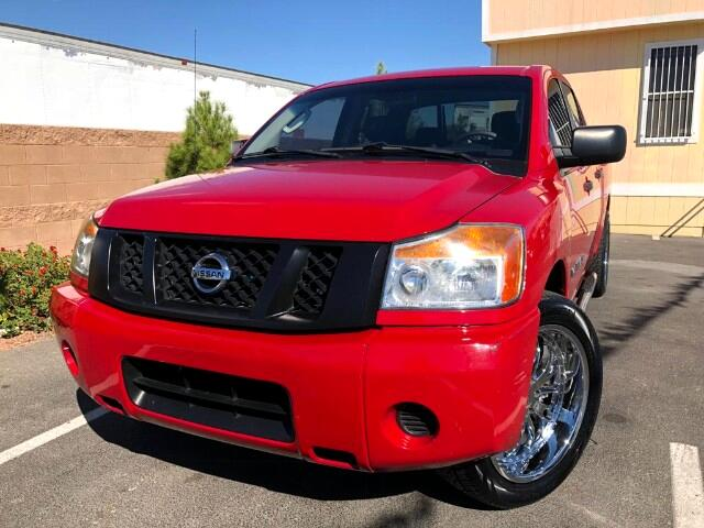 2011 Nissan Titan S Crew Cab 2WD