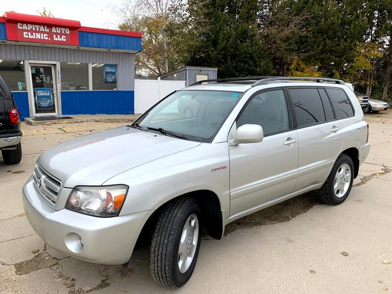 2005 Toyota Highlander V6 4WD with Third Row Seat