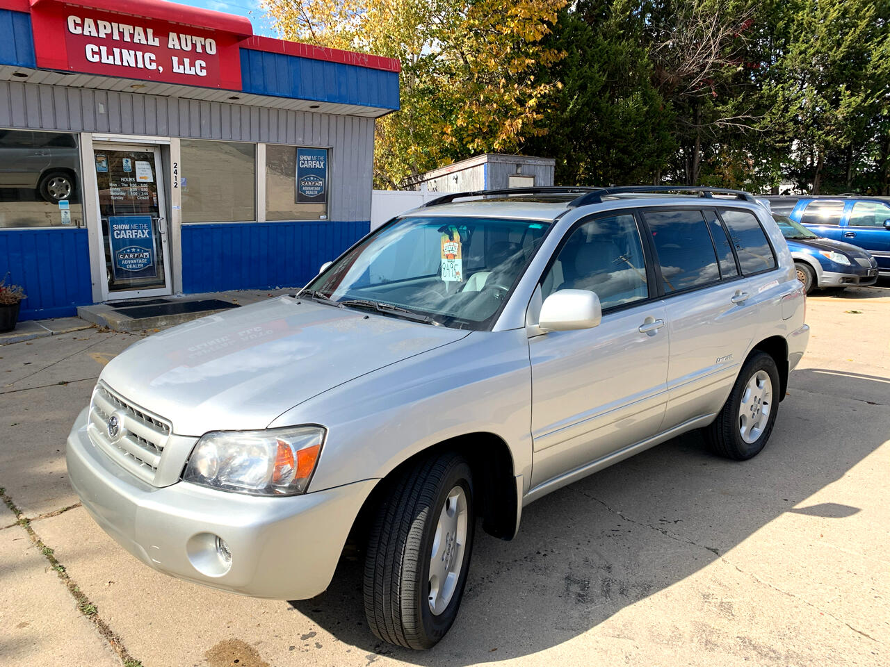 Toyota Highlander 4WD 4dr V6 Limited w/3rd Row (Natl) 2007