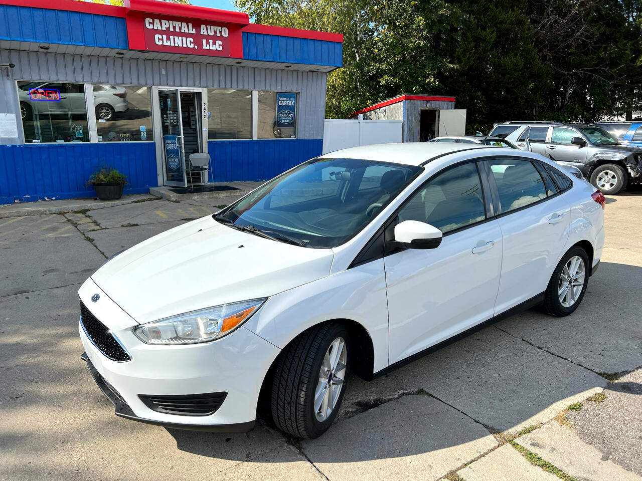 Ford Focus 4dr Sdn SE 2016