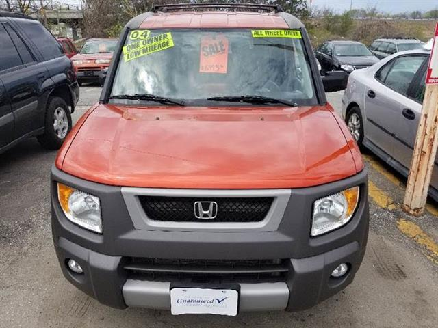 2004 Honda Element EX 4WD AT w/ Front Side Airbags