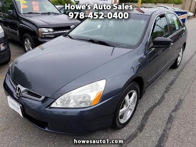 Honda Accord EX-L Sedan AT with XM Radio 2005