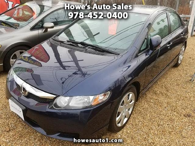 2011 Honda Civic LX Sedan 5-Speed AT