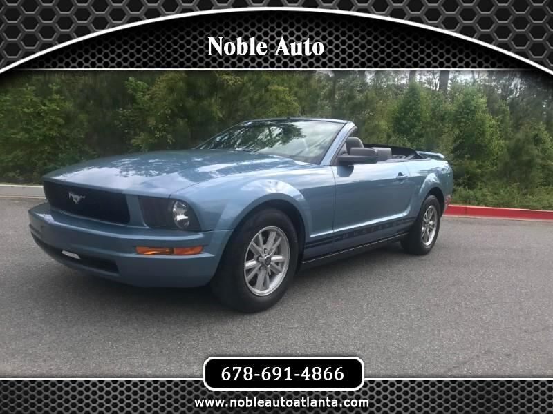 2005 Ford Mustang V6 Premium Convertible