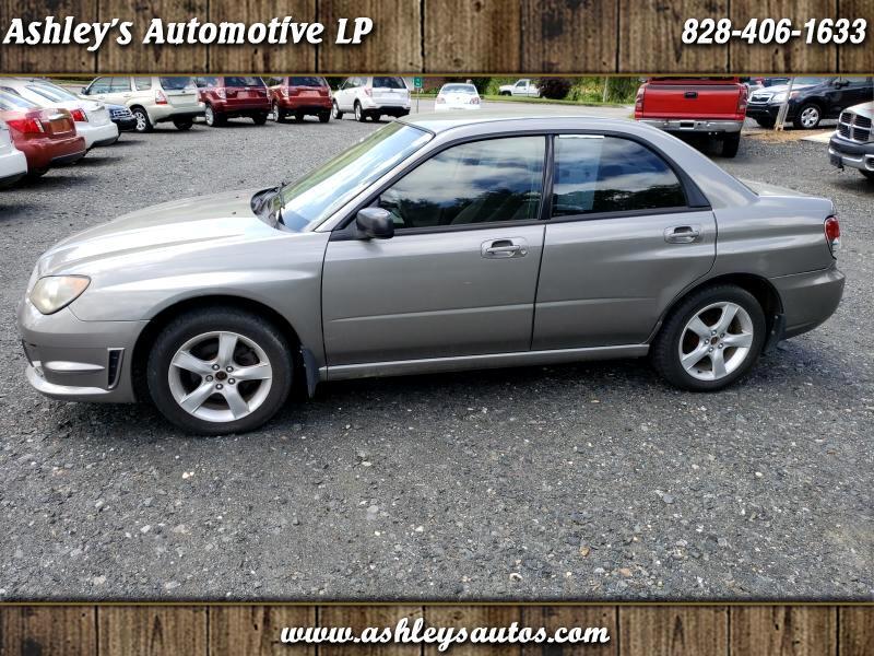 2006 Subaru Impreza 2.0i 4-door CVT