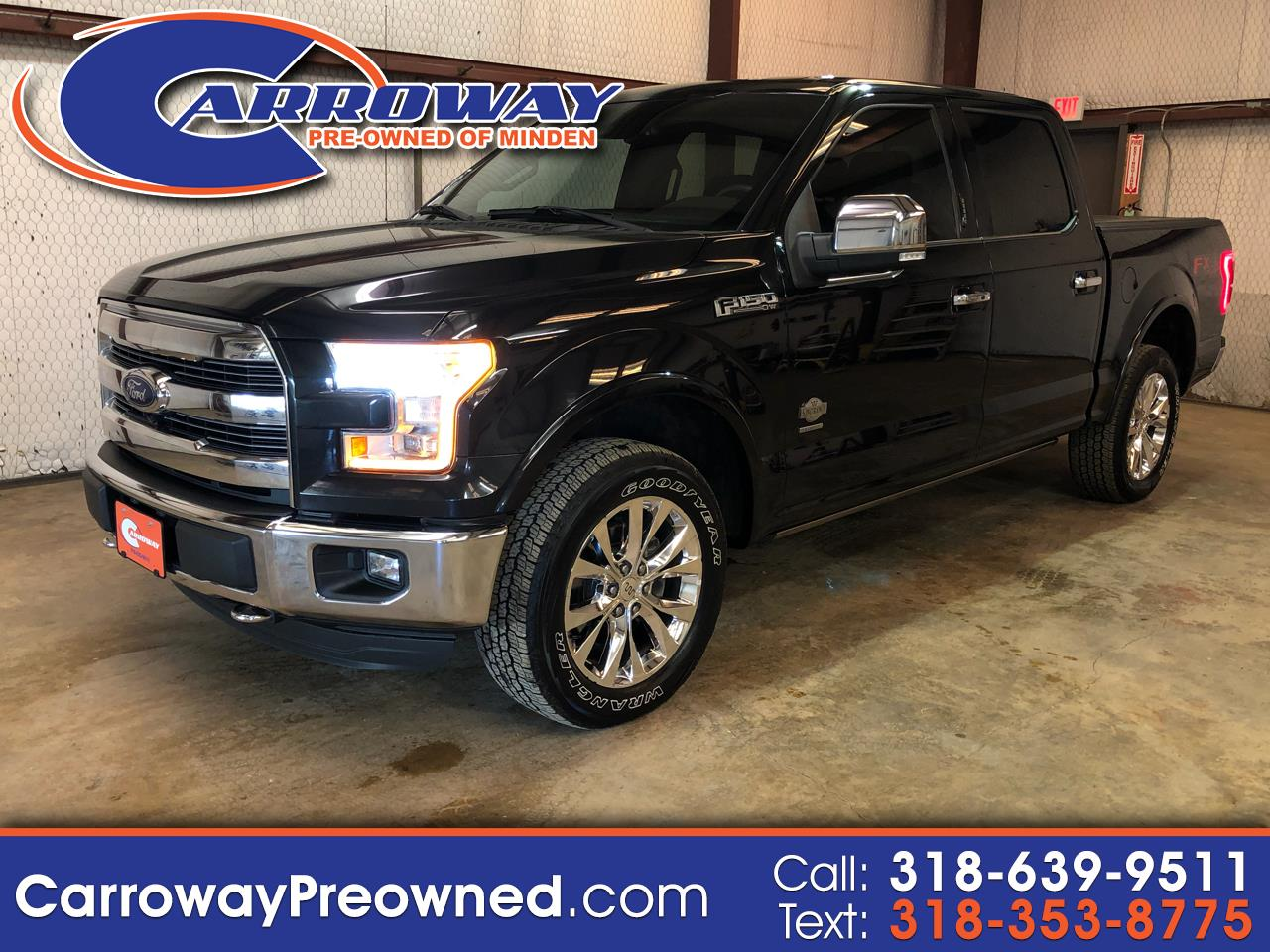 """2015 Ford F-150 4WD SuperCrew 150"""" King Ranch"""
