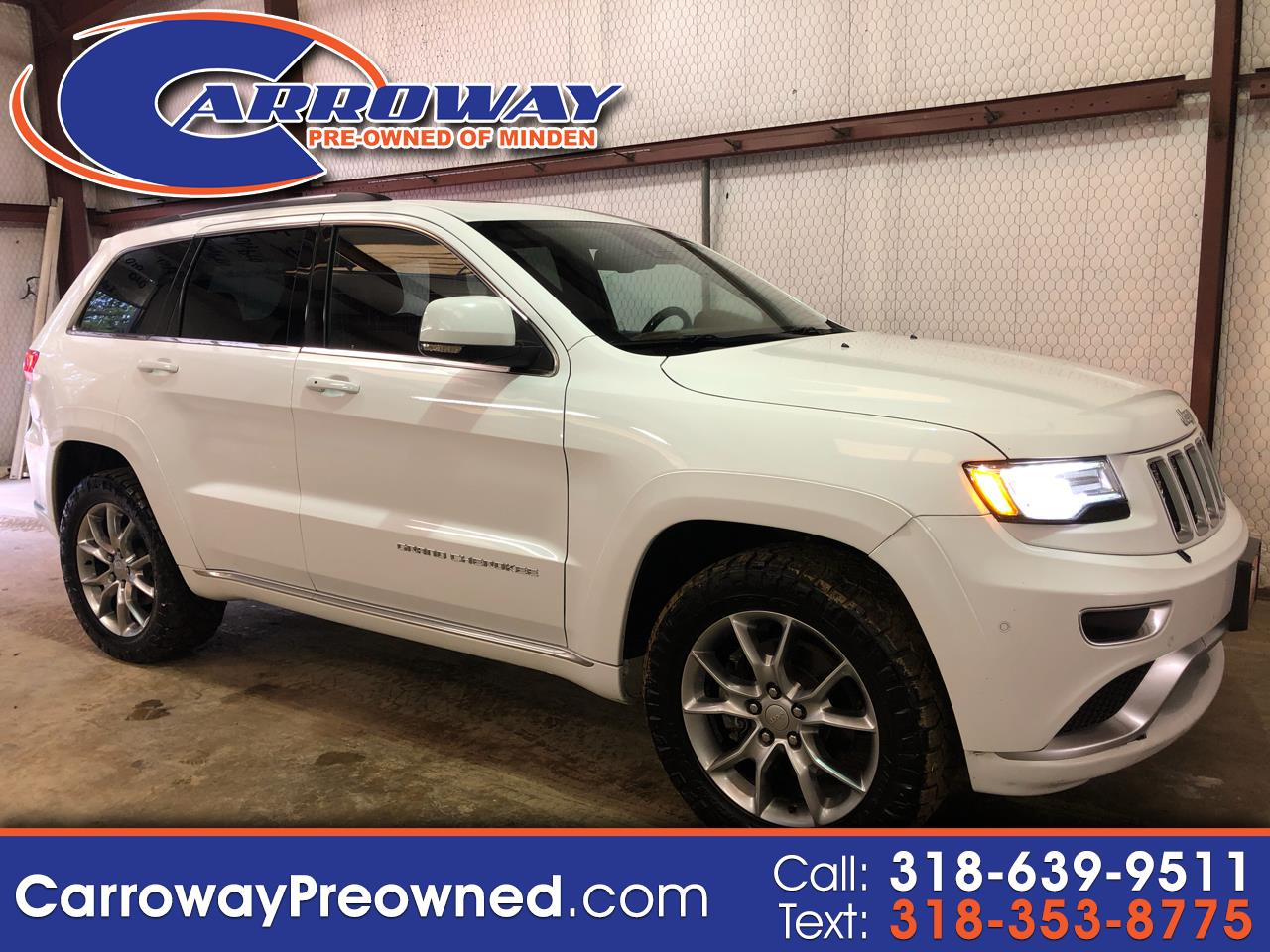 2015 Jeep Grand Cherokee 4WD 4dr Summit