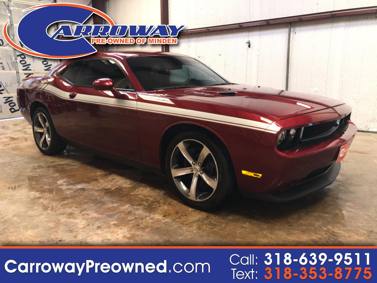 2014 Dodge Challenger 2dr Cpe R/T 100th Anniversary Appearance Group
