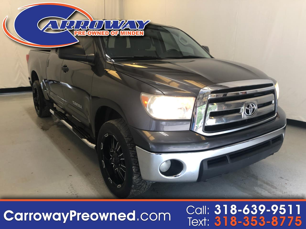 2013 Toyota Tundra 2WD Truck Double Cab 4.6L V8 6-Spd AT (Natl)