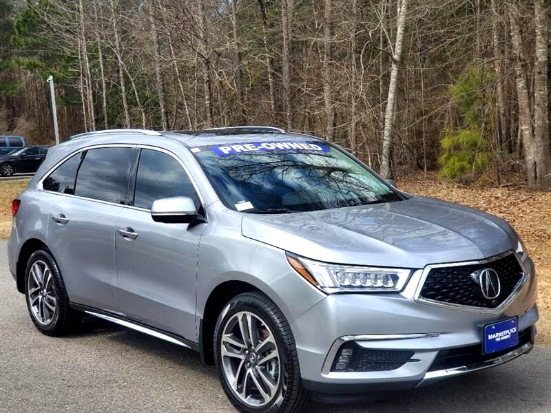 Acura MDX 9-Spd AT Advance Package 2017
