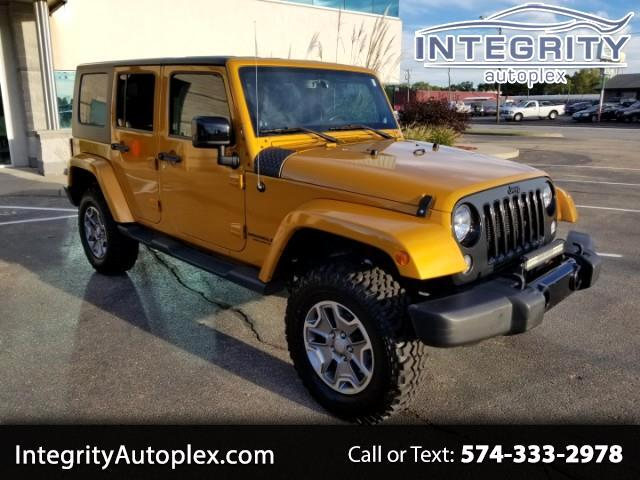 2014 Jeep Wrangler Unlimited Altitude 4WD
