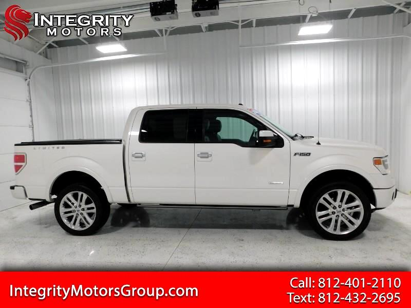 Ford F-150 Limited SuperCrew 4WD 2014