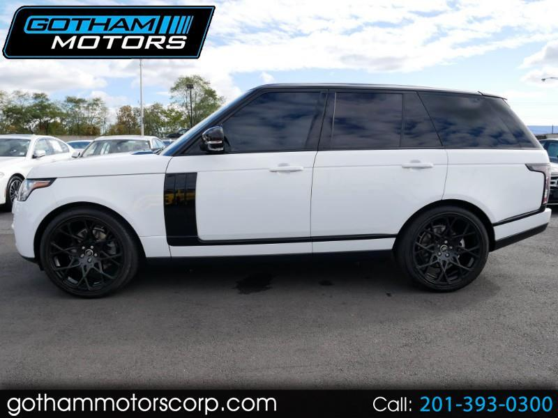 Land Rover Range Rover 4WD 4dr HSE 2017