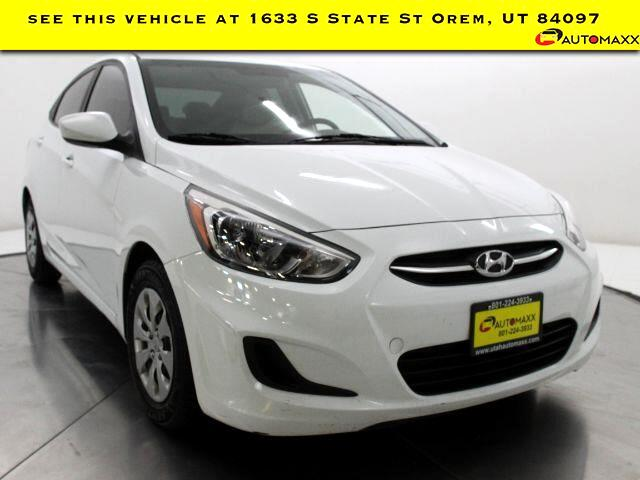 2016 Hyundai Accent SE 4-Door w/Style Package