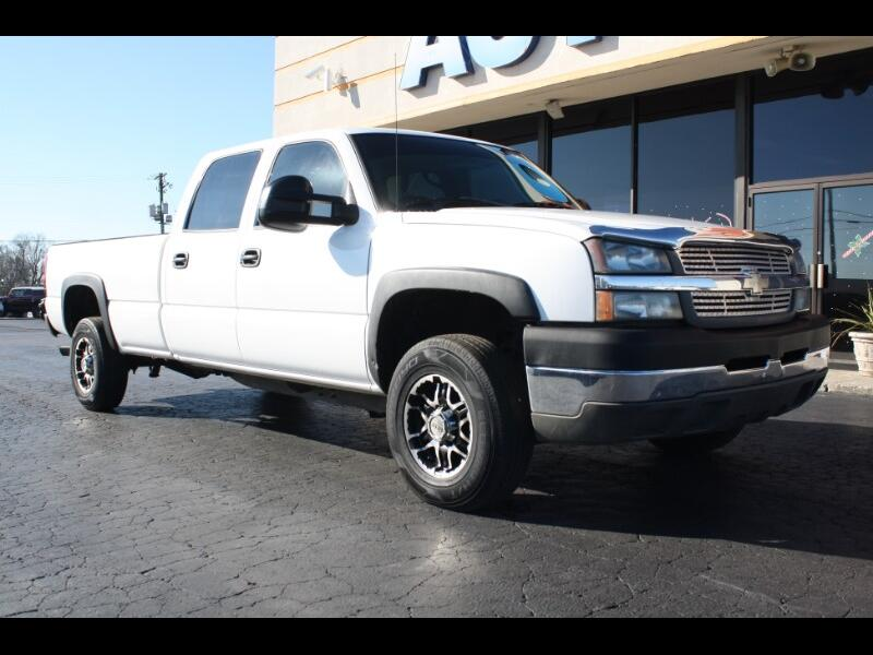 2004 Chevrolet Silverado 2500HD Work Truck Crew Cab Long Bed 2WD