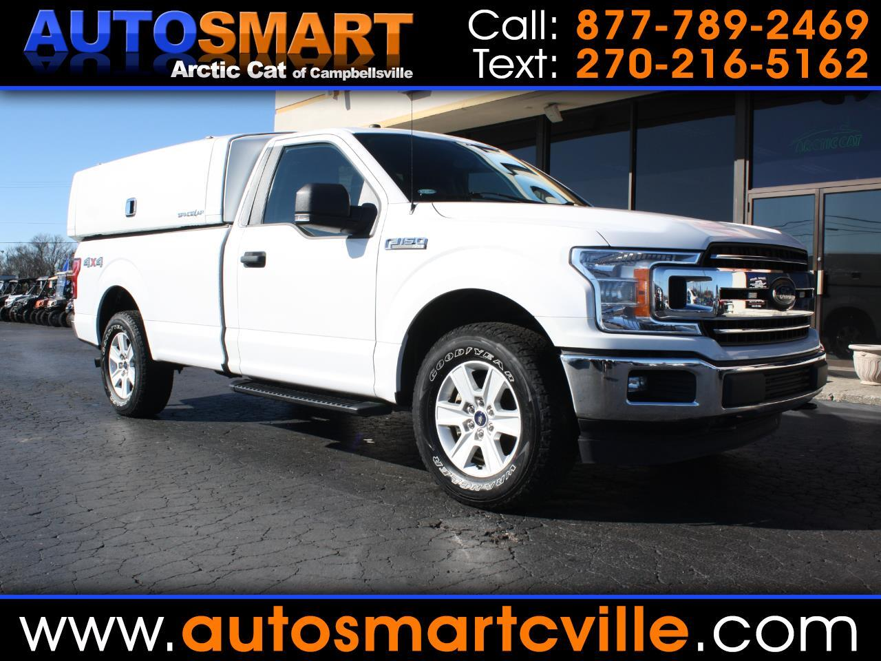Ford F-150 XLT 8-ft. Bed 2WD 2018