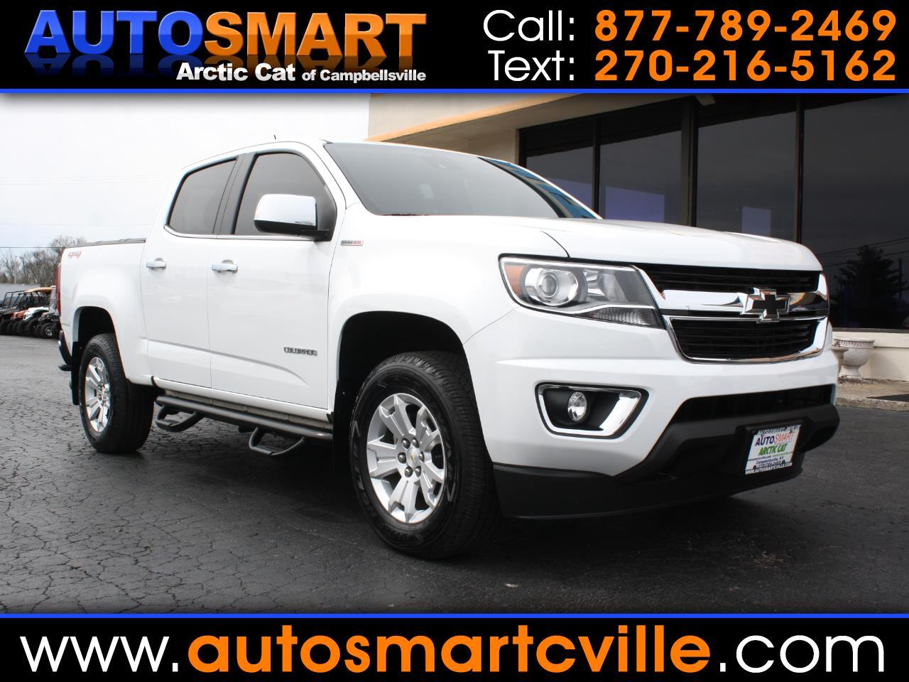 Chevrolet Colorado LT Crew Cab 4WD Long Box 2018