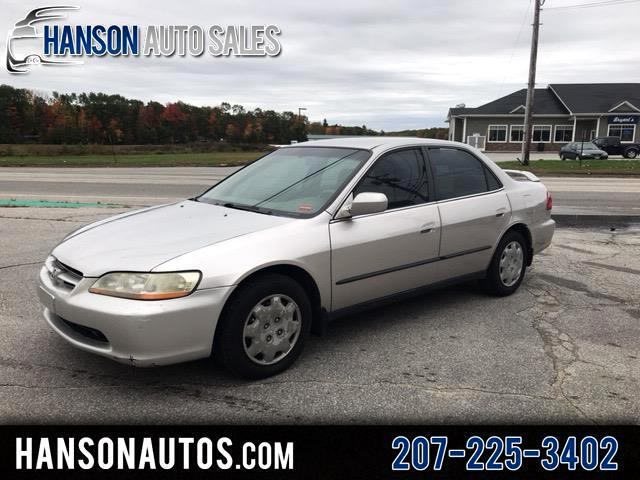 1999 Honda Accord 4dr Sedan LX Auto