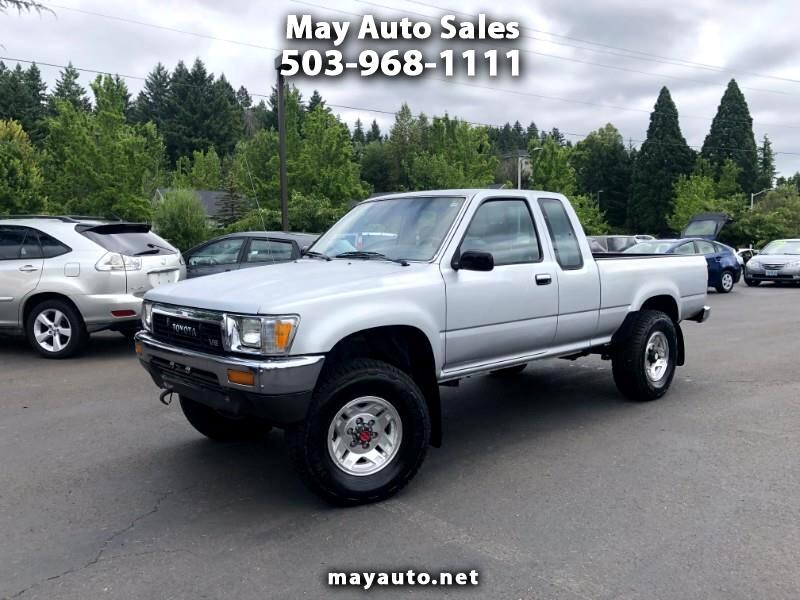 1989 Toyota Pickup DLX V6 Xtracab 4WD