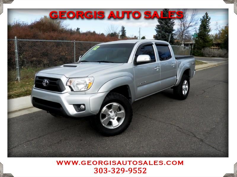 used 2012 toyota tacoma double cab v6 4wd for sale in denver co 80220 georgis auto sales. Black Bedroom Furniture Sets. Home Design Ideas