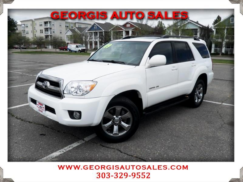 2009 Toyota 4Runner Limited 4WD V6