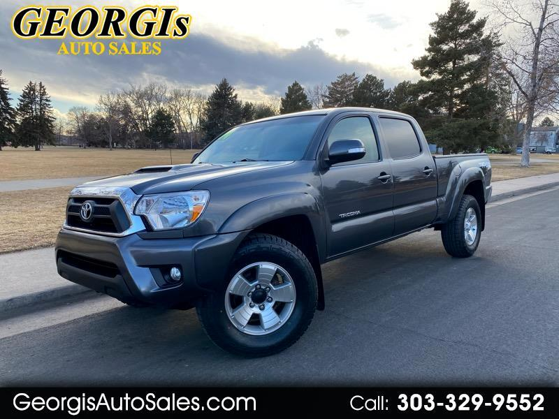 Toyota Tacoma Double Cab Long Bed V6 5AT 4WD 2014