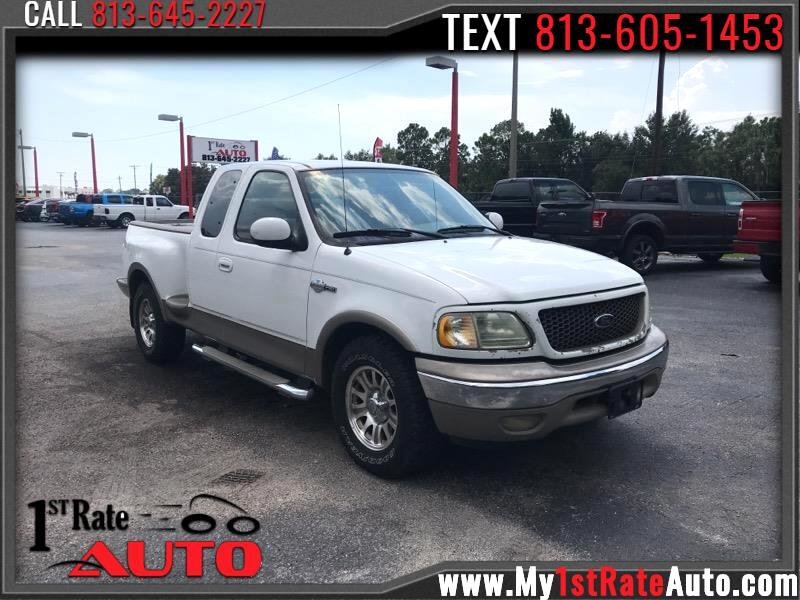 "2003 Ford F-150 Supercab Flareside 139"" King Ranch"