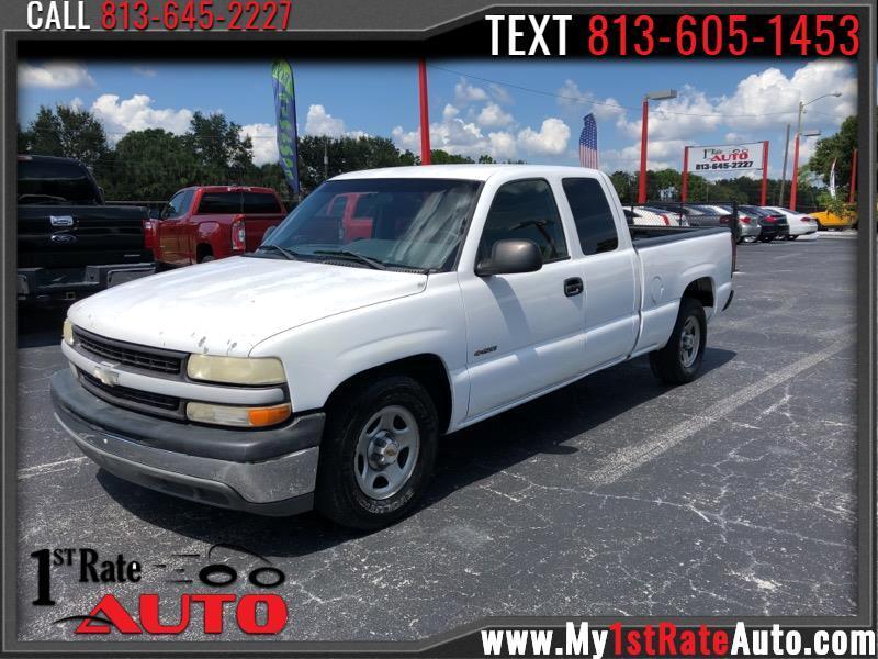 "2001 Chevrolet Silverado 1500 Ext Cab 143.5"" WB"