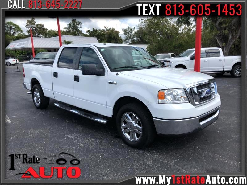 "2008 Ford F-150 2WD SuperCrew 150"" XLT"