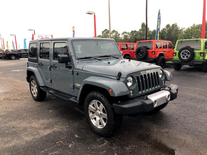 Jeep Wrangler Unlimited 4WD 4dr Sahara 2015
