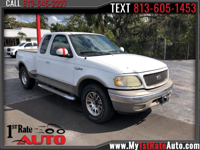 """Ford F-150 2WD SuperCrew 139"""" King Ranch 2003"""