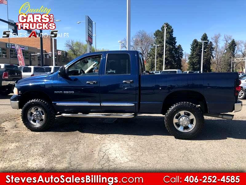 Dodge Ram 2500 ST Quad Cab Short Bed 4WD 2005