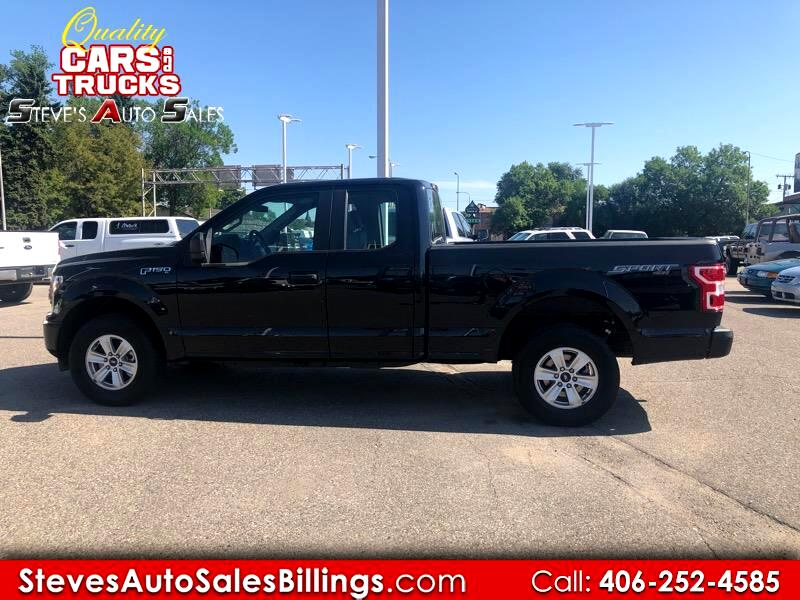 Ford F-150 XLT 4WD SuperCab 6.5' Box 2018