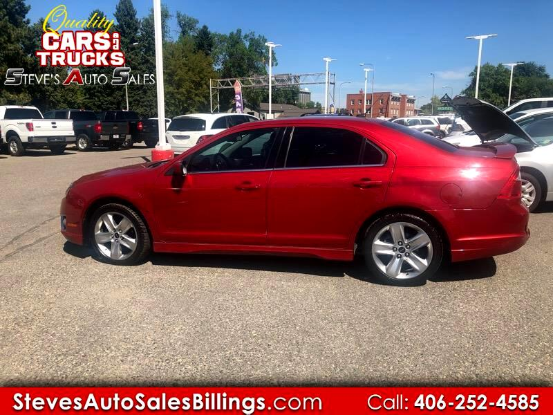 2010 Ford Fusion 4dr Sdn SPORT AWD