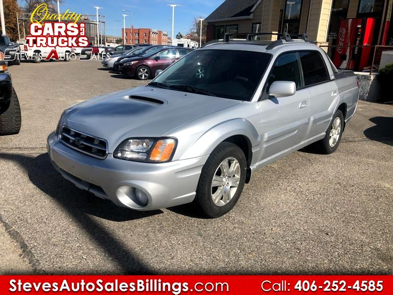 2006 Subaru Baja 4dr Turbo Auto w/Leather Pkg