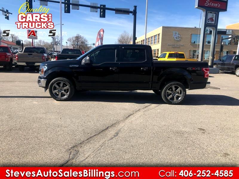 Ford F-150 XLT SuperCrew Short Bed 4WD 2018
