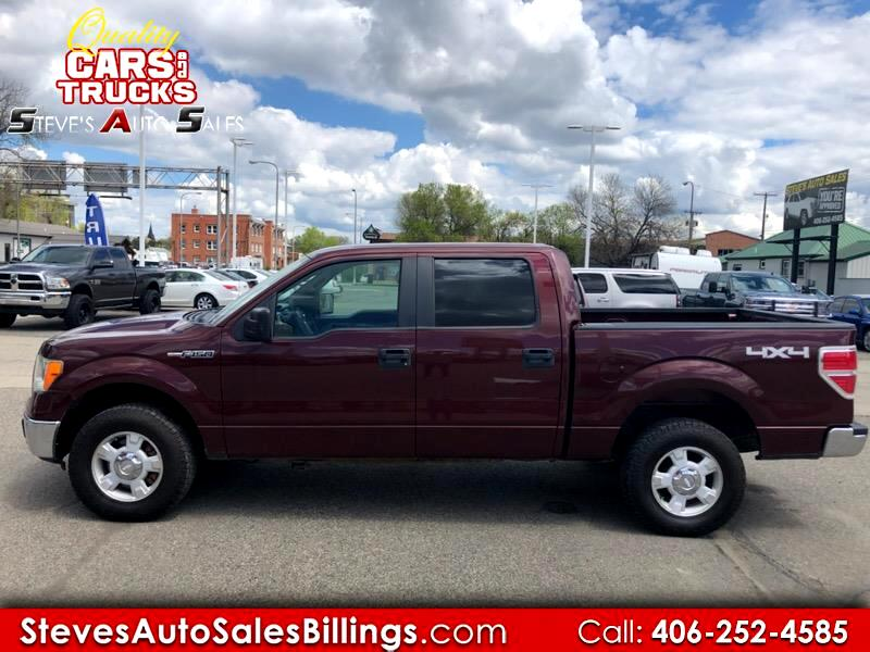 "Ford F-150 Supercab 139"" 4WD 2010"