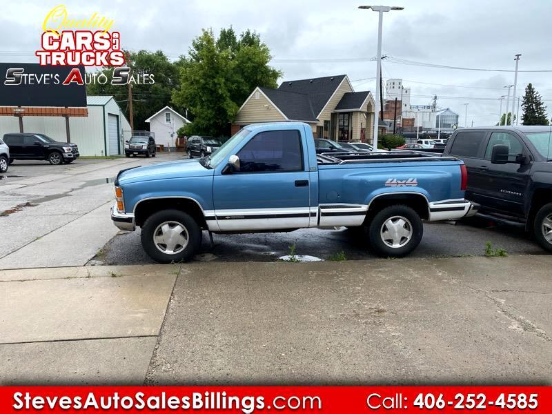 """Chevrolet 1/2 Ton Pickups V10/15 Stepside 117.5"""" WB 1988"""
