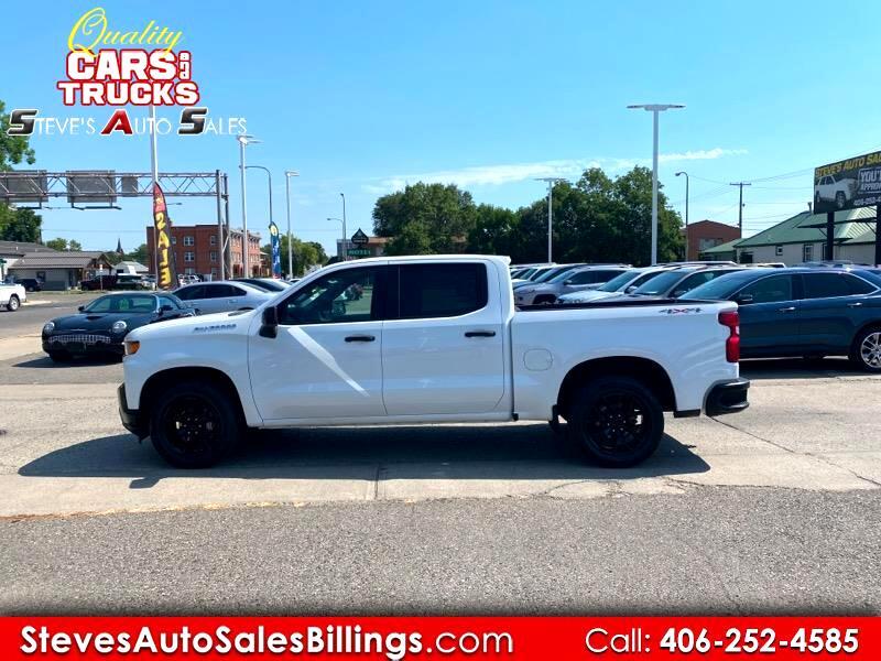 Chevrolet Silverado 1500 1LT Crew Cab 4WD 2019