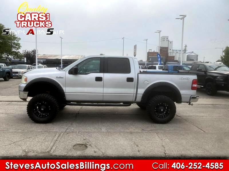 "Ford F-150 SuperCrew 139"" XLT 4WD 2004"