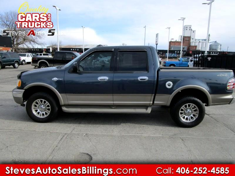 "Ford F-150 SuperCrew 139"" King Ranch 4WD 2002"