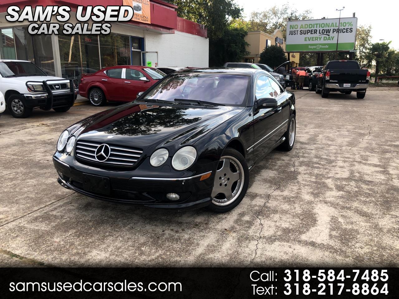 2002 Mercedes-Benz CL-Class CL600