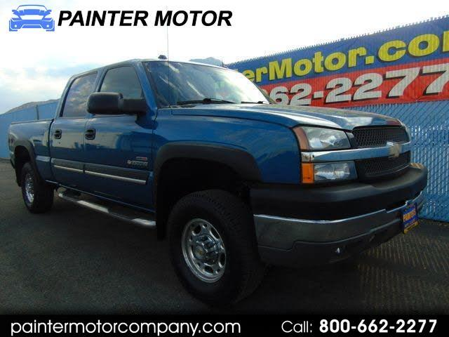 2004 Chevrolet Silverado 2500HD LT Crew Cab Long Bed 4WD