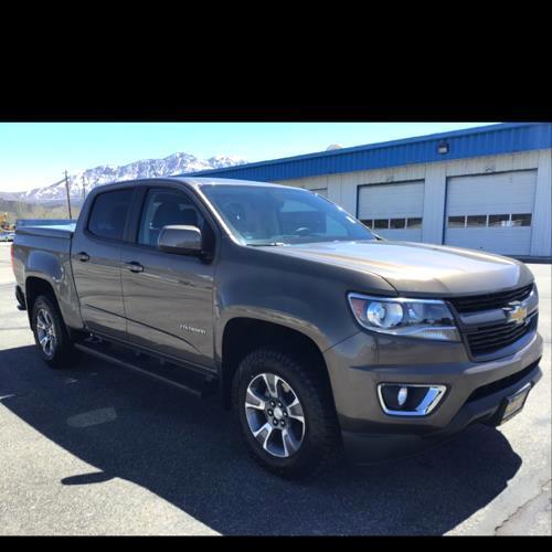"""2015 Chevrolet Colorado 4WD Crew Cab 128.3"""" Z71"""