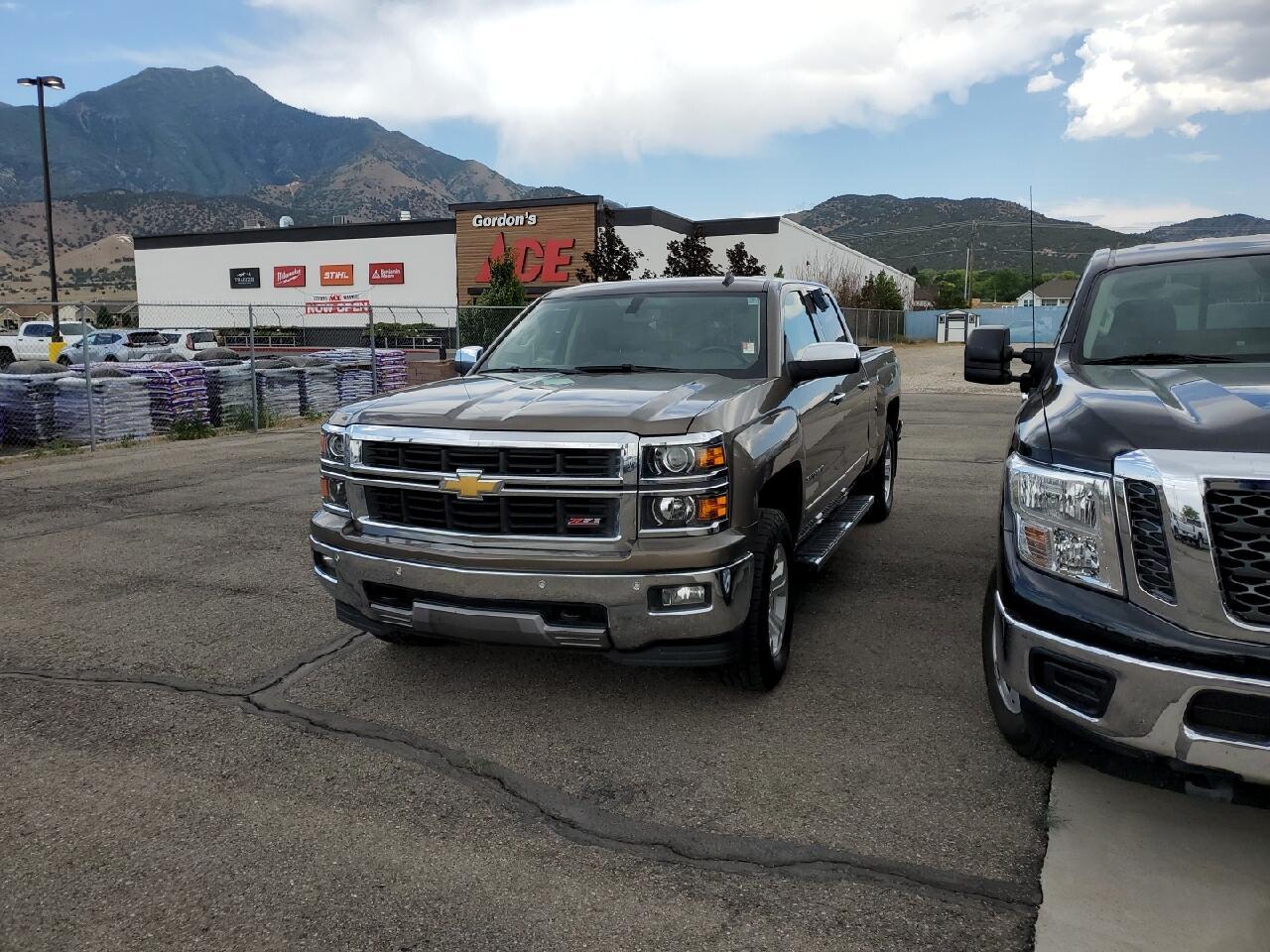 "Chevrolet Silverado 1500 4WD Crew Cab 153.0"" LTZ w/2LZ 2014"