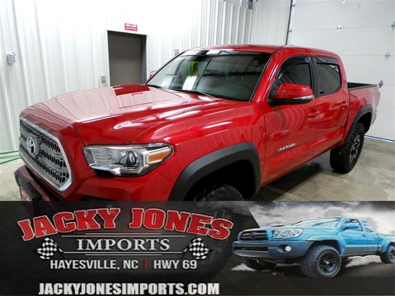 2017 Toyota Tacoma TRD Off Road Double Cab 6' Bed V6 4x4 AT (Natl)