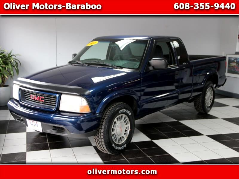 2001 GMC Sonoma SL Ext. Cab Short Bed 4WD