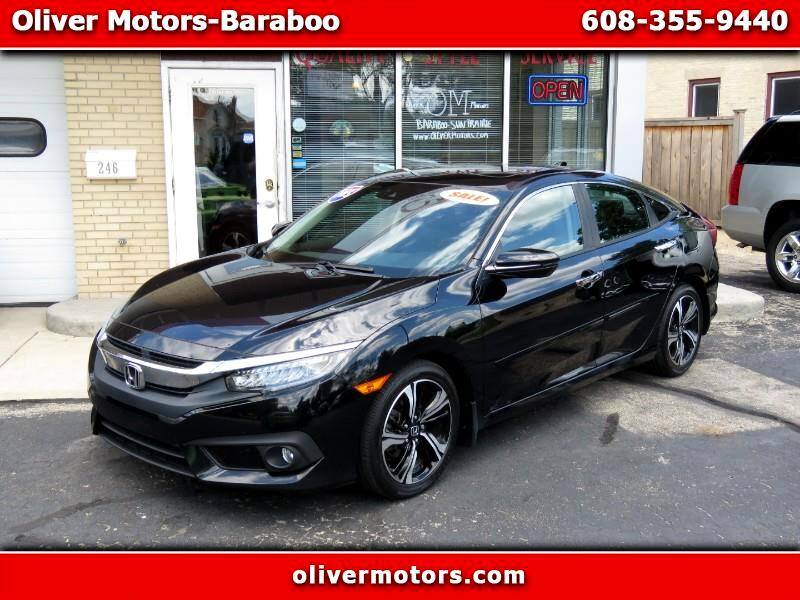 2016 Honda Civic Touring Sedan CVT